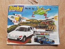 Dinky Die Cast Toy Game MECCANO catalogue brochure leaflet STAR TREK vintage