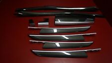 BMW E70 X5 HYDRO DIP CARBON FIBER INTERIOR TRIM SET FOR LHD
