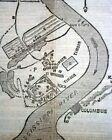 BATTLE OF BELMONT MO Missouri & Mathias Point VA Civil War MAPS 1861 Newspaper