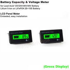 Lead Acid Lithium Li-ion Battery BMS Capacity Level Indicator Voltage Voltmeter