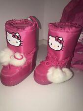 Hello Kitty by Victoria Casal mit Bommel Stiefel winterboots Gr. 28 mit Beutel