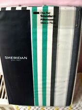 NEW - PAIR of  QUALITY SHERIDAN PILLOW CASES : AIRLIE - STANDARD SIZE,240tc