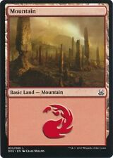 4 x Mountain (033/065) - Mind vs. Might - Magic the Gathering MTG Basic Land