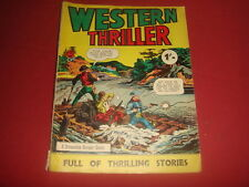 WESTERN THRILLER #1? A Streamline Comic British UK Comic B & W Reprint  1960'S