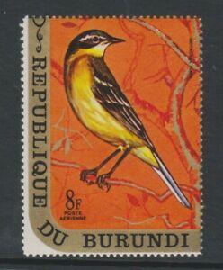 Burundi - 1970, 8f Yellow Wagtail, Bird stamp - MNH - SG 562