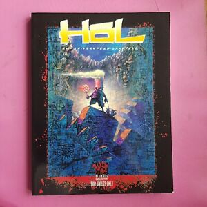 HOL : HUMAN OCCUPIED LANDFILL RPG ROLEPLAYING BLACK DOG GAMES WHITE WOLF RARE