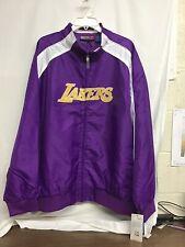 Majestic Bigman! NBA LA Lakers Full Zippered Jacket NWT 3XL