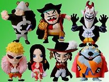 One Piece Seven Warlords gashapon figure set Bandai