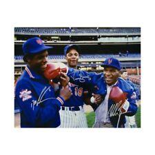 Mike Tyson, Doc Gooden, Darryl Strawberry Autographed 16x20 Photo - JSA COA