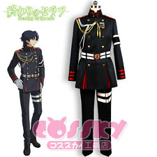 Seraph of the end Guren Ichinose Cosplay Kostüm costum Perücke wig uniform neu