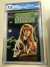 House of Secrets #92 1971 CGC 7.5 1st Appearance Swamp Thing Great Eye Appeal!