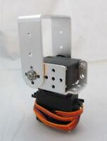 Silver 2 DOF Pan and Tilt With MG995 Servos Sensor Mount for Arduino Robot DIY