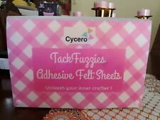 New listing Assorted Adhesive Felt Fabric Set: 30 Unique Sheets 8x12 inch (20x30cm). New