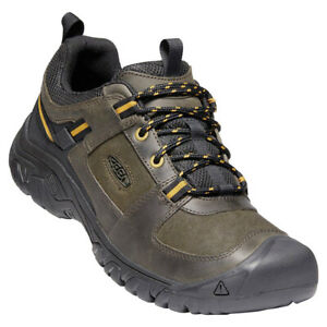 New Keen Men's Targhee III Casual Leather Shoes - Cushioned, Water-resistant
