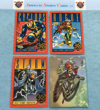 1993 Skybox Marvel X-MEN Series Hologram-Gold SP Lot x 4   STORM   CYCLOPS ROGUE