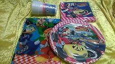Mickey Mouse Party Set Kindergeburtstag 37-tlg. Geschirr Geburtstag Feier Junge
