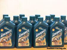 8,12€/l Shell Advance Ultra 2T 12 x 1 Ltr vollsynth 2-Takt Öl