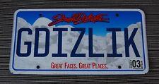 South Dakota Mt Rushmore License Plate Tag  ~GDIZLIK~
