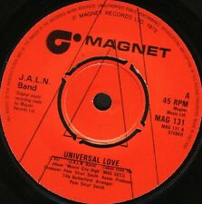 "J.A.L.N. BAND universal love slash everybody's gotta do something DEMO 7"" WS EX/"