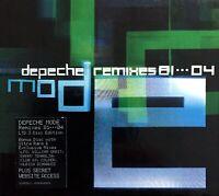 3xCD BOX SET COFFRET DEPECHE MODE REMIXES 81....04 LIMITED EDITION RARE 2004