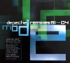 3xCD BOX SET COFFRET DEPECHE MODE REMIXES 81....04 LIMITED EDITION RARE 2004