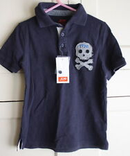 Joe Fresh Toddler Blue Polo Skull Dress Shirt