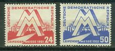 DDR 282 - 283 , ** , * , o , Tagesstempel - Leipziger Messe