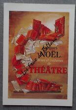 JACQUES NOEL DECORS COSTUMES DE THEATRE   postcard