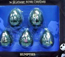 Nbx Weeble Wobble Humpties - Set of 5 - Nightmare Before Christmas - New in Box