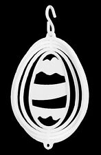 SWEN Products EASTER EGG Tini Swirly Christmas Tree Ornament