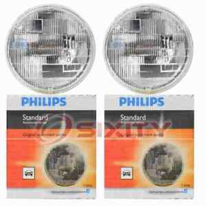 2 pc Philips 4000C1 Headlight Bulbs for Electrical Lighting Body Exterior  gd