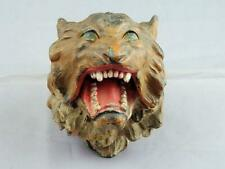 Magnificent Antique Austrian Cold Painted Roaring Tiger Inkwell