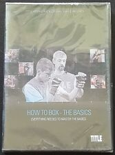 How To Box - The Basics (Everything Needed To Master The Basics) Dvd - New