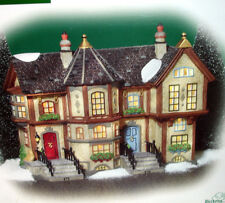 Department 56 HOWARD STREET ROW HOUSES #58728 Dickens Village NEW
