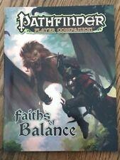 Paizo Pathfinder Player Companion: Faiths of Balance *New*