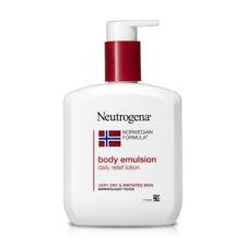 K-Cosmetics {Neutrogena} NEW Norwegian Formula Body Emulsion Daily Lotion, 310ml