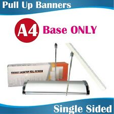 A4 size mini pull up banners retractable banners roll up banners single sided
