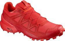 Salomon Speedcross 5 Mens High Risk Red Cherry Trail Running Hiking Shoes 406843