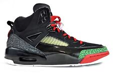 buy popular 96b73 23b43 Nike 2007 Air Jordan Spizike OG Black Red Green Size 11.5 I III IV V VI