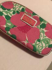 Lily Pulitzer / Estee Lauder Pink And Green Makeup Bag