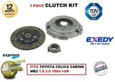 FOR TOYOTA CELICA CARINA CAMRY MR2 1.8 2.0 1984->ON EXEDY OE QUALITY CLUTCH KIT