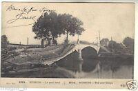 02 - cpa - SOISSONS - 1914 - Le pont neuf  ( i 5795)