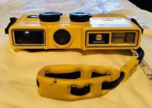 Vintage Minolta Weathermatic A 110 Waterproof Underwater Camera