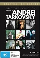 The Films Of Andrei Tarkovsky - Director's Collection (DVD, 9-Disc Set) SEALED