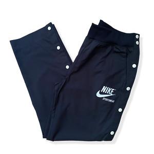 BNWT Nike Popper Tracksuit Bottoms | Small S | Black Retro Track Pants W30 L29
