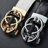 NEW Fashion Buckle Men's Leather Classic Vintage Belt Multicolor