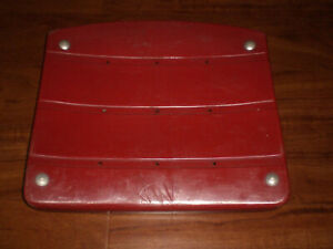 STEELERS THREE RIVERS STADIUM RED SEAT BOTTOM W/COA