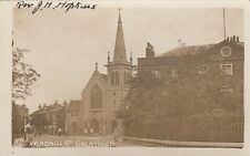 London RP Postcard. Brentford. Windmill Rd. Hounslow. Rev. Hopkins. 1910