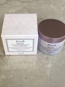 Fresh Rose Deep Hydration Face Cream--50 ml-1.6 oz--NIB