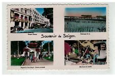 TONKIN INDOCHINE VIETNAM SAIGON #18623 SOUVENIR DE SAIGON GARAGE CHARNER REPIQUA